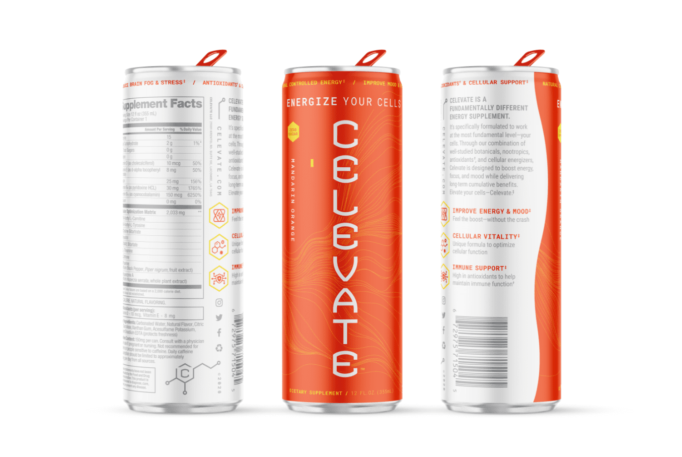 orange can render of mandarin orange flavor celevate